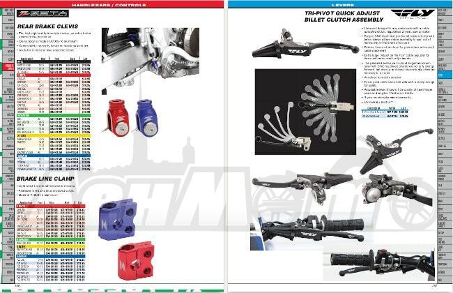 Неоригинальные запчасти и аксессуары для внедорожных и кроссовых мотоциклов