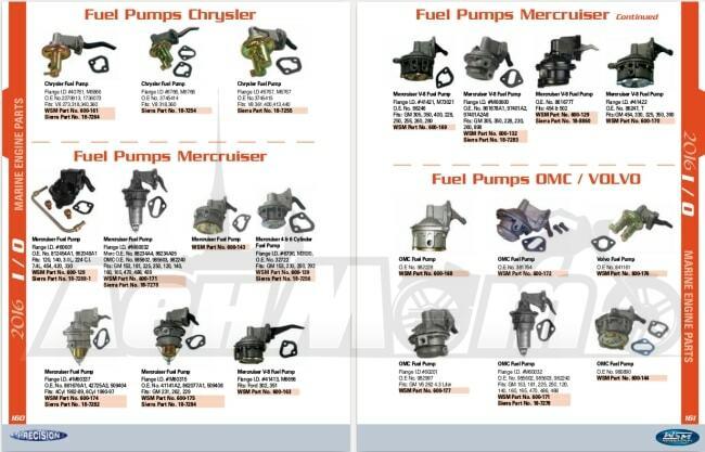 Запчасти и аксессуары для катеров и лодочных моторов