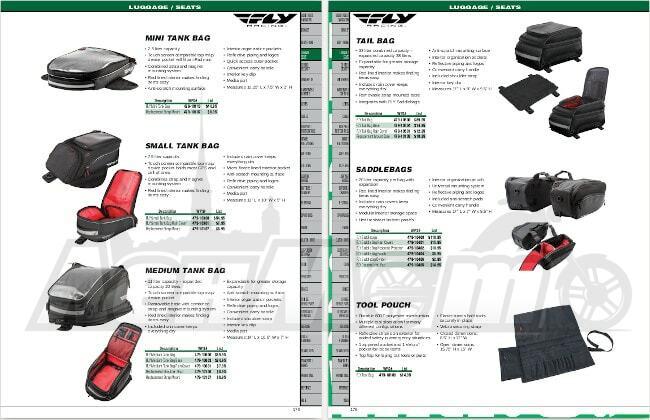 Неоригинальные запчасти и аксессуары для мотоциклов