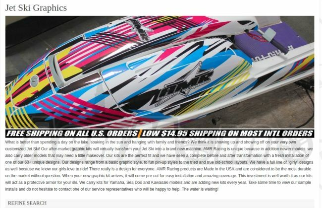 Комплекты графических наклеек для мототехники