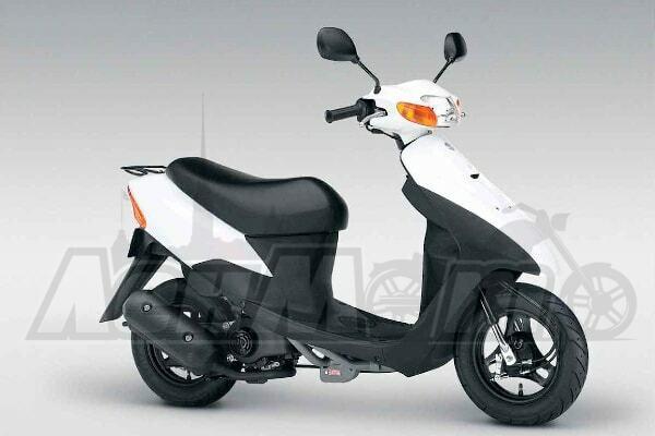 Каталог запчастей (Parts catalog) для Скутера (Scooter) Suzuki AZ50 Let's 2 1996-1999 скачать pdf