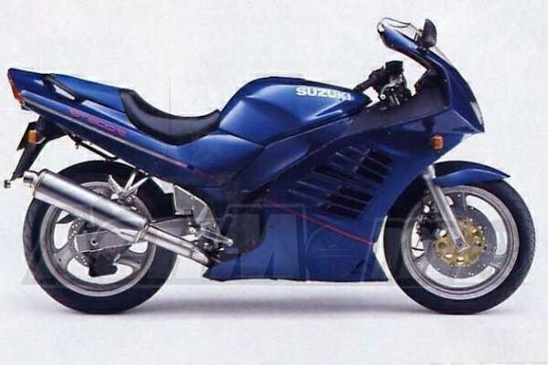 Руководство по ремонту (Service manual) для Мотоцикла (Motorcycle) Suzuki RF600R 1993-1997 скачать pdf