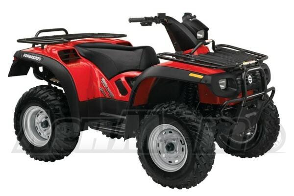 Руководство по ремонту (Service manual) для Квадроцикла (ATV) Can-Am Traxter 500 1999-2000 скачать pdf