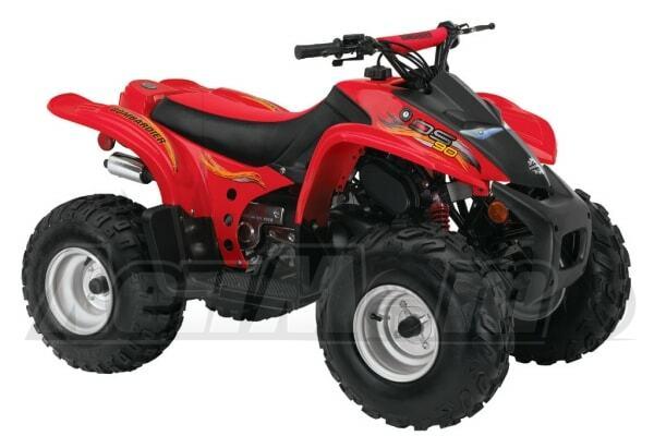 Руководство по ремонту (Service manual) для Квадроцикла (ATV) Can-Am DS 90 4-strokes 2005 скачать pdf