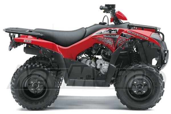 Руководство по ремонту (Service manual) для Квадроцикла (ATV) Kawasaki KVF 300 BRUTE FORCE 2012 скачать pdf