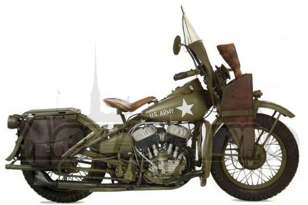 Руководство по ремонту (Service manual) для Мотоцикла (Motorcycle) Harley-Davidson WLA 1940-1944 скачать pdf
