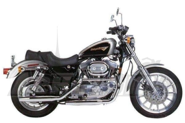 Руководство по ремонту (Service manual) для Мотоцикла (Motorcycle) Harley-Davidson XLH SPORTSTER 1998 скачать pdf