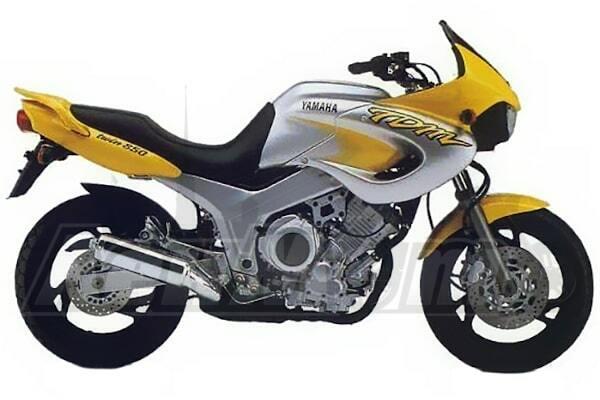 Руководство по ремонту (Service manual) для Мотоцикла (Motorcycle) Yamaha TDM 850 1998-2001 скачать pdf