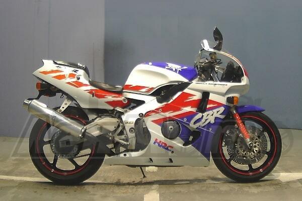 Каталог запчастей (Parts catalog) для Мотоцикла (Motorcycle) Honda CBR400RR (NC29) 1990-1991 скачать pdf