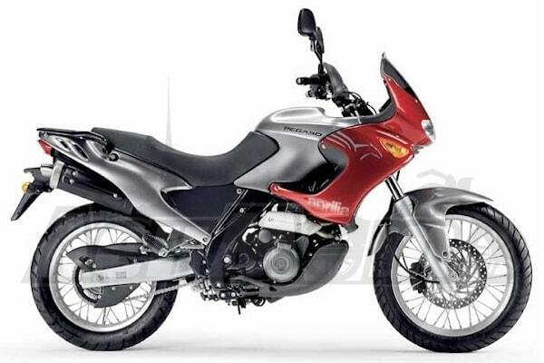 Руководство по эксплуатации (Owners manual) для Мотоцикла (Motorcycle) Aprilia Pegaso 650 2001-2005 скачать pdf