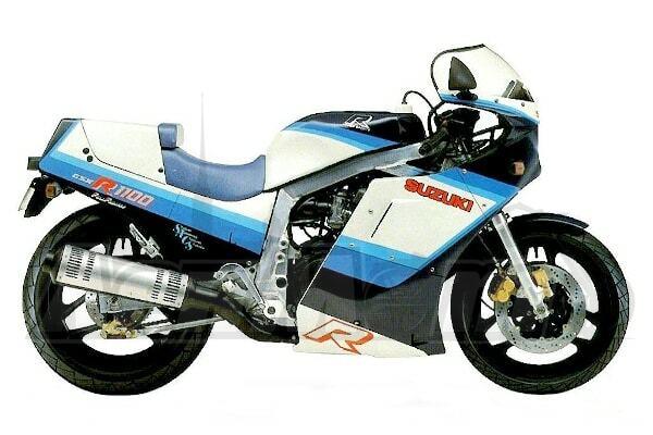 Руководство по эксплуатации (Owners manual) для Мотоцикла (Motorcycle) Suzuki GSX-R1100 1986-1988 скачать pdf