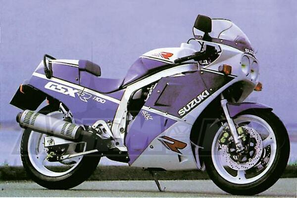 Руководство по ремонту (Service manual) для Мотоцикла (Motorcycle) Suzuki GSX-R1100 1986-1988 скачать pdf